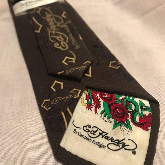 Ed Hardy Silk Tie